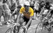 Miguel Indurain en el Tour de Francia.
