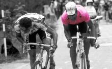 Miguel Indurain en el Giro de Italia.